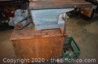 Working Craftsman Table Saw w/blades