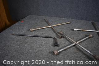 4 Tire Irons