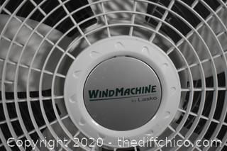 Working 23in dia 3 Speed Wind Machine
