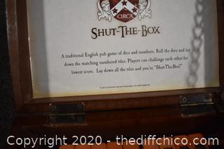 Shut the Box Game