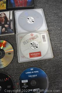 Mixed Lot of Movies and CD's
