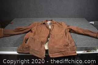 Leather Jacket size XL - needs cleaning