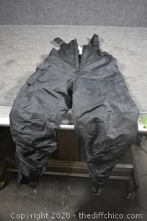 Black Powder Pants size M 7/8