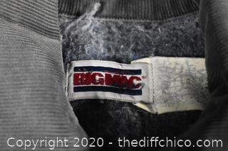 Big Mac Lined Demin Jacket size M