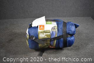 Ozark Trail Cool Weather Mummy Sleeping Bag
