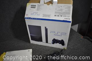 Working PS2 Playstation Slim