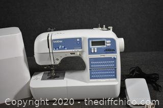 Working Portable Brothers Sewing Machine-model XR9500PRW