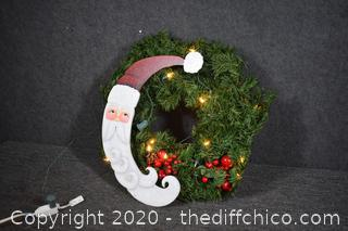 20 1/2in dia Christmas Wreath