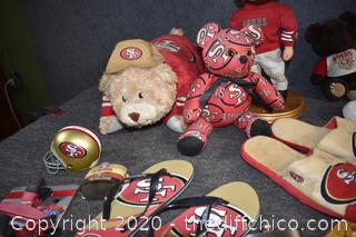 49er's Collectible Lot