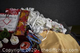 Christmas Bags, Linens and More
