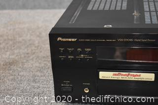 Pioneer Receiver  - Powers Up
