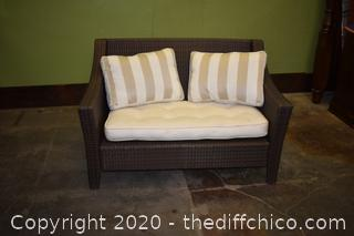 Patio Love Seat-55 3/4in wide