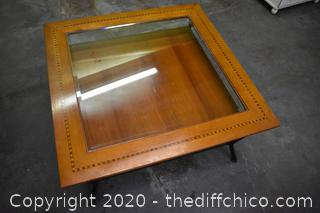 Table w/Glass Top