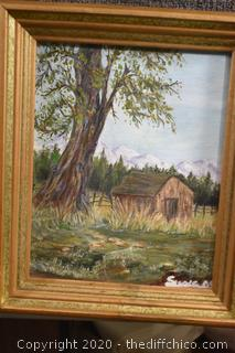 Framed Original Oil