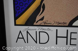 Framed Signed Poster