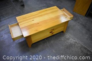 Pine Yield House Coffee Table