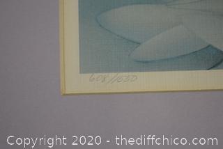 Framed Signed 608/1000