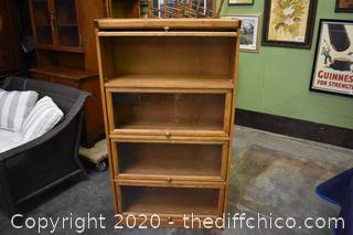 Oak Lawyers Bookcase