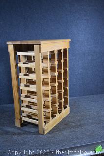 Wine Rack Hold 18 Bottles