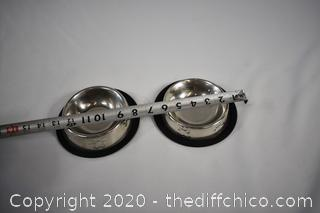 2 Pet Dishes