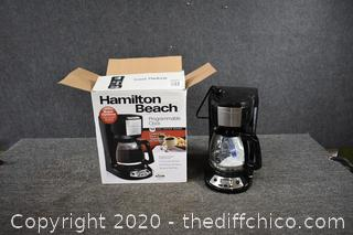 Working Hamilton Beach Coffee Maker