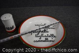Spagetti and Cheese Set