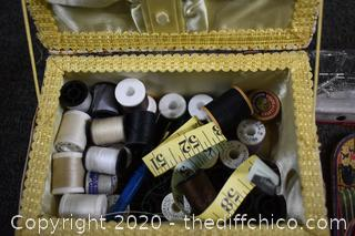 Sewing Box plus Contents