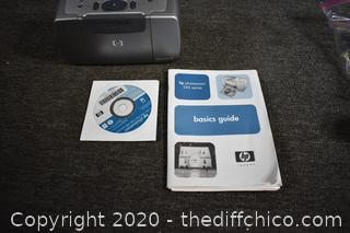Untested HP Photosmart 245 - no cords