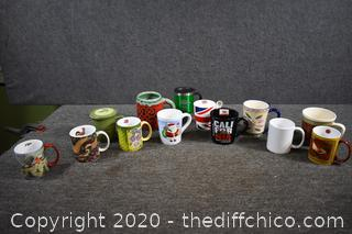 Lot of Coffee Cups