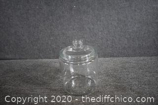 Glass Canister w/lid