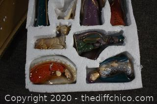 NIB Nativity Set