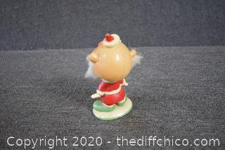 Vintage Santa Bobble Head