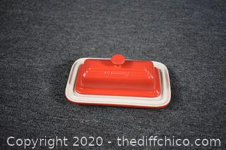 New Le Creuset Butter Dish