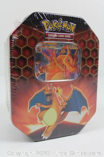 RARE Pokemon TCG Hidden Fates Charizard Tin Factory Sealed