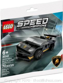 LEGO 30342 Lamborghini Huracan Super Trofeo EVO 70 Pieces