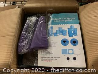 Frontpet Cat Maze - Purple (J48)