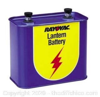 Rayovac 918 6V Lantern Battery - Box of 6 (J60)