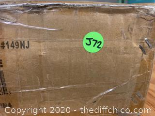 "Vivo STAND-TV03E  Black Mobile Cart for 32"" to 65"" TVs (J72)"