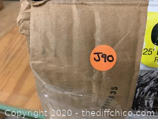 Masterflow 6 Inch 25 Foot Flexible Duct (J90)