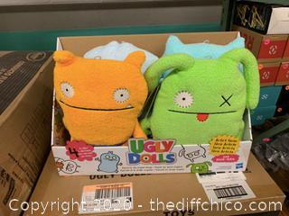 Ugly Dolls Plush Toys - Set of 4 (J105)