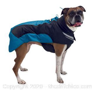 Frontpet Ultra Light Soft Shell Dog Jacket - Large Blue (J109)