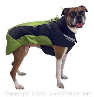 Frontpet Ultra Light Soft Shell Dog Jacket - Small Green (J128)