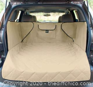 Frontpet SUV Pet Cargo Liner With Quilted Top - XL Tan (J139)