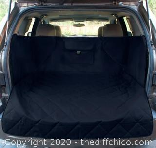 Frontpet SUV Pet Cargo Liner With Quilted Top - XL Black (J148)
