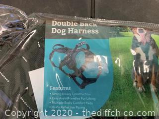 Frontpet Heavy Duty Double Back Dog Harness - Large (J150)