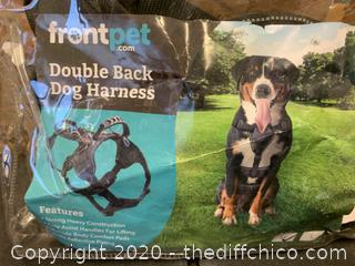 Frontpet Heavy Duty Double Back Dog Harness - Medium (J152)