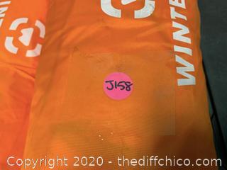 Winterial Single Person Tent - Orange (J158)