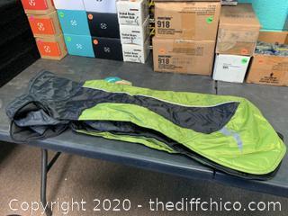 Frontpet Ultra Light Soft Shell Dog Jacket - Medium Green (J165)