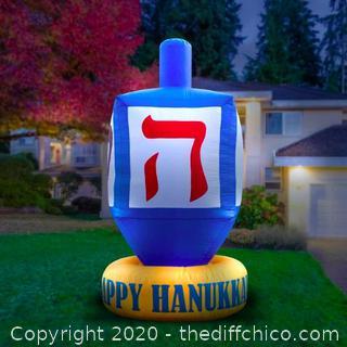 Holidayana Inflatable Dreidel Hanukkah Decoration (J179)