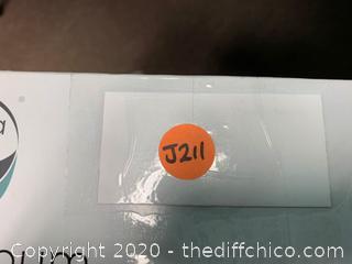 Zenna Home Rust-Resistant Tension Corner Pole Caddy (J211)